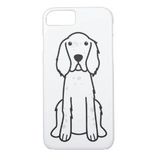 Englischer Setzer-HundeCartoon iPhone 8/7 Hülle