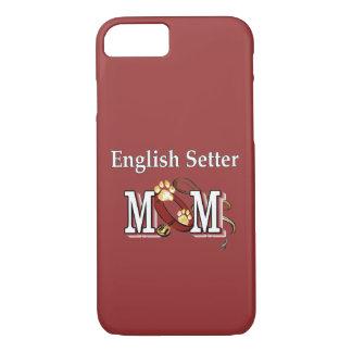 Englischer Setzer-Mamma-Geschenke iPhone 8/7 Hülle
