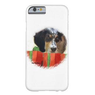 Englischer Setzer-Weihnachten Barely There iPhone 6 Hülle