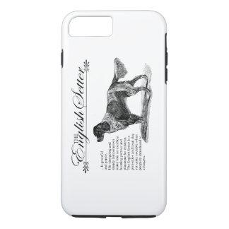 Englischer SetzerVintage Storybook-Art iPhone 8 Plus/7 Plus Hülle