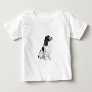 Englischer SpringerSpaniel (a) - Schwarzweiss Baby T-shirt