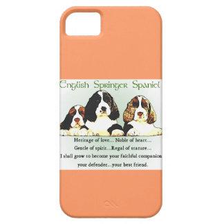 Englischer Springerspaniel-Erbe der Liebe Etui Fürs iPhone 5