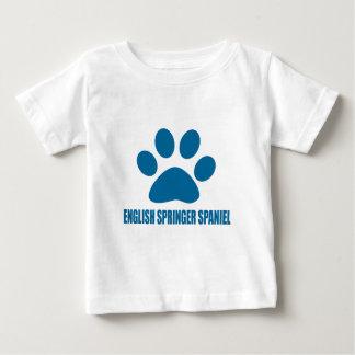 ENGLISCHER SPRINGERspaniel-HUNDEentwürfe Baby T-shirt