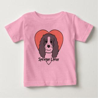 Englischer Springerspaniel-Liebhaber Baby T-shirt