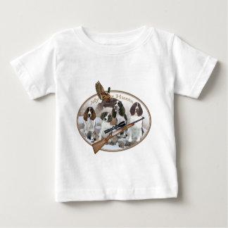 ENGLISCHER SPRINGERvier SPANIEL im SCHNEE meine Baby T-shirt