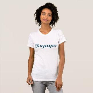 Englischer VOYAGER in den Sternen T-Shirt