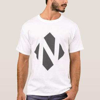 Englisches Alphabet - N T-Shirt