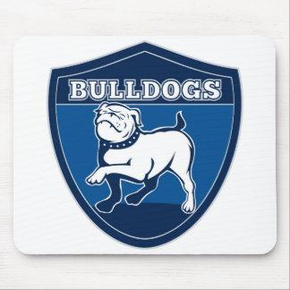 Englisches Bulldoggen-Hündchen-Maskottchen Mousepad