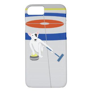 Englisches Bullterrier-Winden iPhone 8/7 Hülle