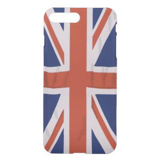 Englisches Flagge iPhone X/8/7 plus klaren Fall iPhone 8 Plus/7 Plus Hülle