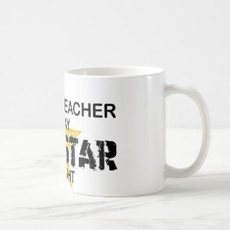 Englischlehrer-Rockstar Tasse