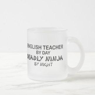 Englischlehrer tödliches Ninja Mattglastasse