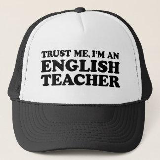 Englischlehrer Truckerkappe