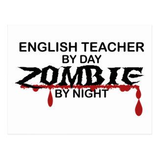 Englischlehrer-Zombie Postkarten