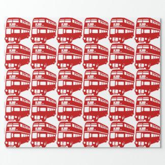 Englischlondon-Bus Geschenkpapier