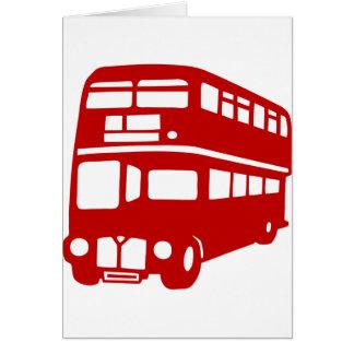 Englischlondon-Bus Karte