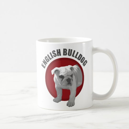 English Bulldog Kaffeetasse