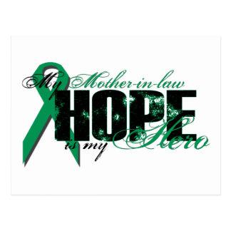 Enkel mein Held - Nieren-Krebs-Hoffnung Postkarte