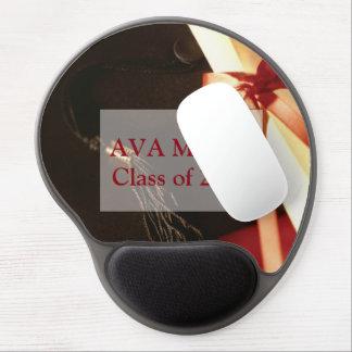 Enkelin-Abschluss-Wünsche, rundes Geschenk Gel Mouse Pad