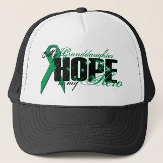 Enkelin mein Held - Nieren-Krebs-Hoffnung Truckerkappe