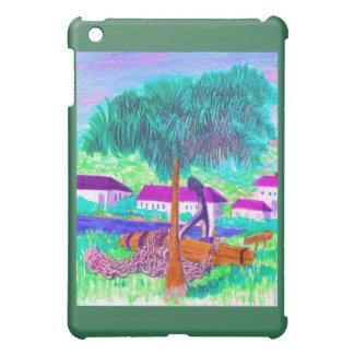 Enorme Kette und Anker auf einer tropischen iPad Mini Hülle