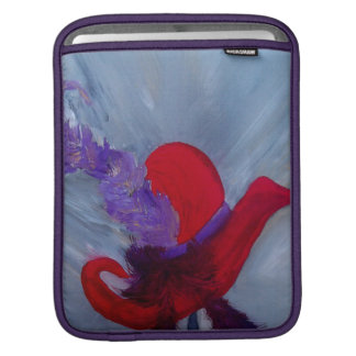 ensemble chapeau rouge sleeve iPad sleeves