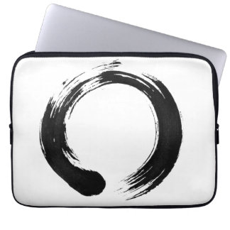 Enso Kreis-Neopren-Laptop-Hülse 13 Zoll Laptop Sleeve