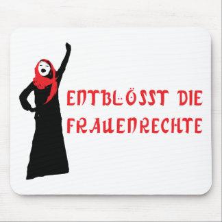 Entblösst die Frauenrechte! Mousepads