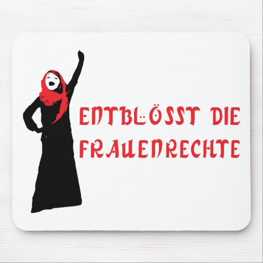 Entblösst sterben Frauenrechte! Mousepads