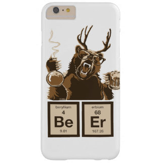Entdecktes Bier der Chemie Bär Barely There iPhone 6 Plus Hülle
