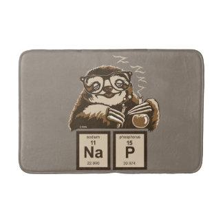 Entdecktes Nickerchen der Chemie Sloth Badematte