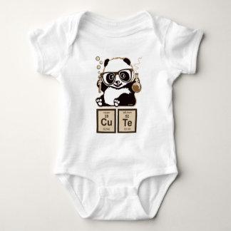 Entdecktes niedliches der Chemie Panda Baby Strampler
