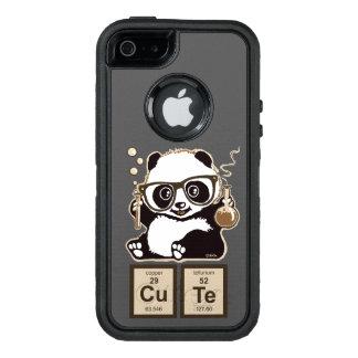 Entdecktes niedliches der Chemie Panda OtterBox iPhone 5/5s/SE Hülle