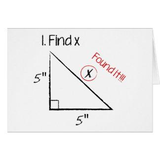 Entdeckung X Karte