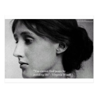 """""""Entdeckungs-Friedens"""" Klugheits-Zitat-Geschenke Postkarte"""