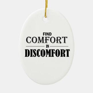 Entdeckungs-Komfort im Unbehagen Keramik Ornament