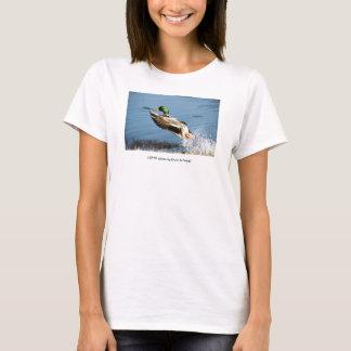 Ente der Damen-T/Stockente T-Shirt