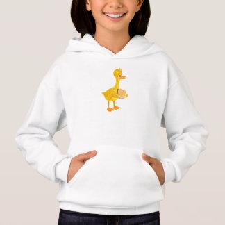Ente, die Brot isst Hoodie