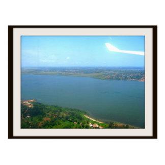 Entebbe Postkarte