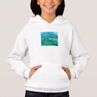 Enten auf dem Wasser Hoodie