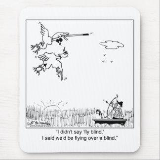 Enten-Fliegen blind Mauspads