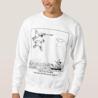 Enten-Fliegen blind Sweatshirt