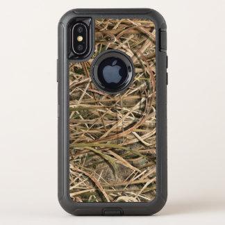 Enten-Jagd-Feuchtgebiets-Camouflage-Telefon-Kasten OtterBox Defender iPhone X Hülle