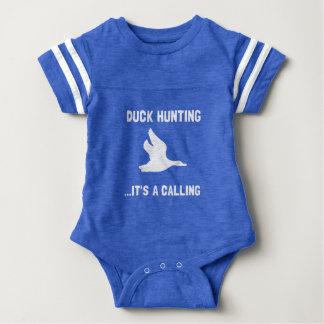 Enten-Jagd Nennen Baby Strampler