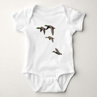 Enten-Jagd-Stockenten im Flug Baby Strampler