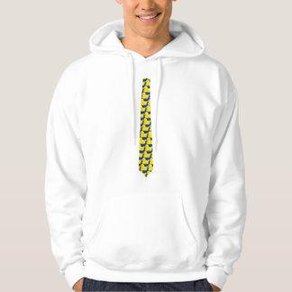 Enten-Krawatte Kapuzensweater