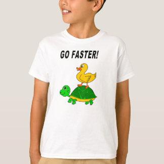 Enten-und Schildkröte-T - Shirt