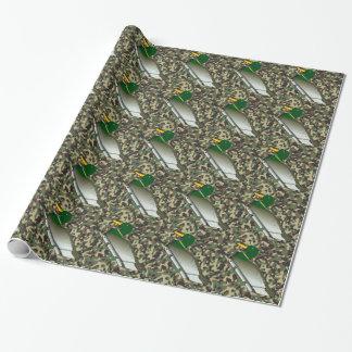 Enten-WaldCamouflage-Verpackungs-Papier Geschenkpapier