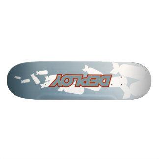 Entfalten Sie Skateboard Personalisiertes Skateboarddeck