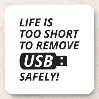 Entfernen Sie USB sicher Untersetzer